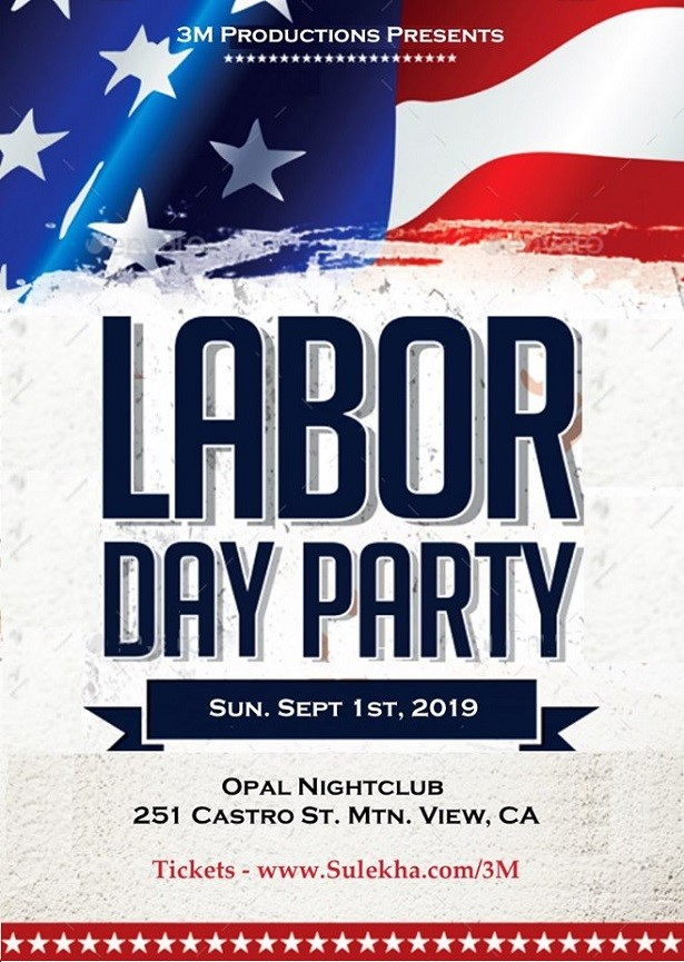 Bollywood Labor Day Party on Sept 1st at Opal Nightclub
